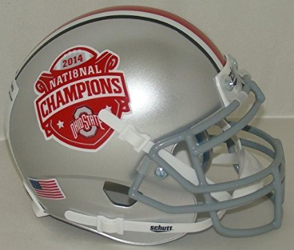 Special 2014 National Champions Schutt Authentic Mini Helmet ()