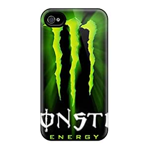 High Quality Cai2187Iugy Monster Tpu Case For Iphone 4/4s