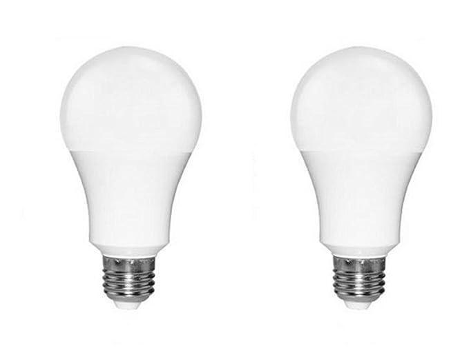 Tikwisdom - Bombilla LED (E27, 15 W, 400 lúmenes), color blanco