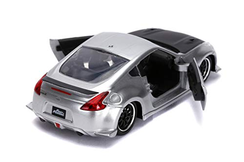 Jada Toys Fast & Furious 2009 Nissan 370Z 1:32 Scale Die-cast Vehicle, Silver 4