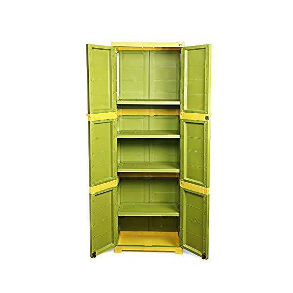 Cello Novelty Large Storage Cupboard with 4 Shelves