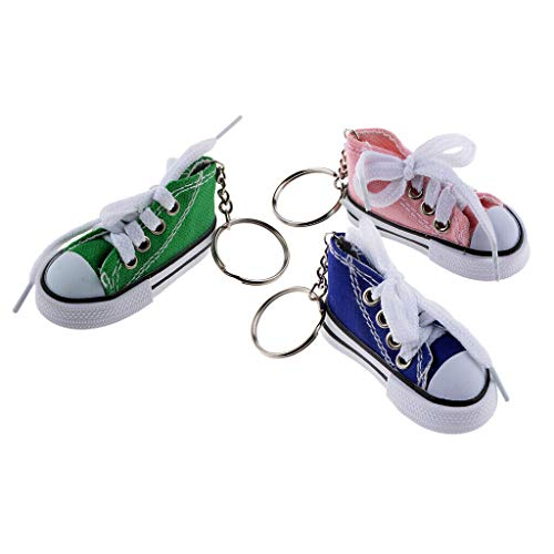 (NATFUR 3pcs Keyring Keychain Decor Ornaments Bag Charms Hanging Embellishment Shoes Elegant Pretty Novelty Key-Chain for Women Cute for Girls Pretty Novelty Lovely)