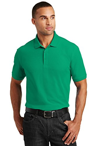 Port Authority Core Classic Pique Polo. K100 Bright Kelly Green M