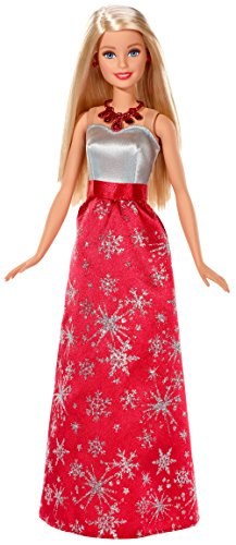 Holiday Barbie 2017 Doll In Snowflake Dress