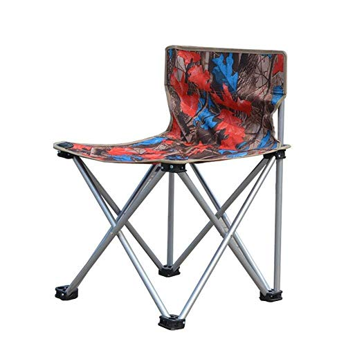 - Zichen Camping Chair Outdoor Folding Chair, Aluminum Fishing Chair Hiking Stool for Activity Outdoors/Camping/Barbecue/Beach/Backpack
