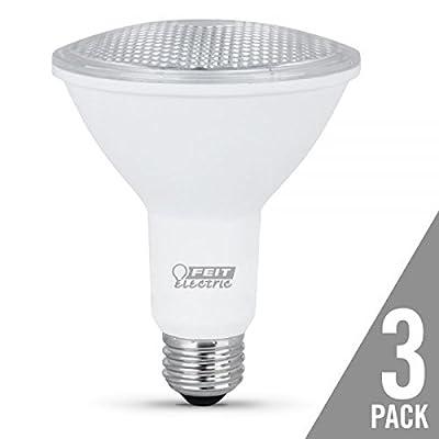Feit Electric Par30l7510kled3 Floodlight Par30 Led Light Bulb, 10.5 Watts