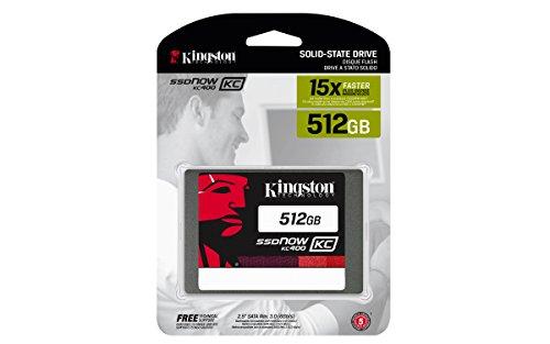 Kingston Digital 512GB KC400 SSD C2C 2.5'' Solid State Drive (SKC400S37/512G) by Kingston (Image #2)