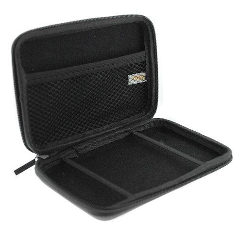 BIRUGEAR Black Eva Pouch Carrying Case for GPS TomTom START 40 M/50 M, One XL/XL S/XL 330, Go 720 730 920, Garmin Nuvi 200w 205w 250w 255w 260w 710 750 -
