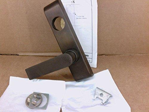 Von Duprin Trim 372 L US10B LHR 06 Trim 640 Dark Oxidized Satin Bronze Oil Rubbed Left Handed Reverse 33 35 Exit 33/3547-F 33 35 Exit 33/3547WDC by Von Duprin
