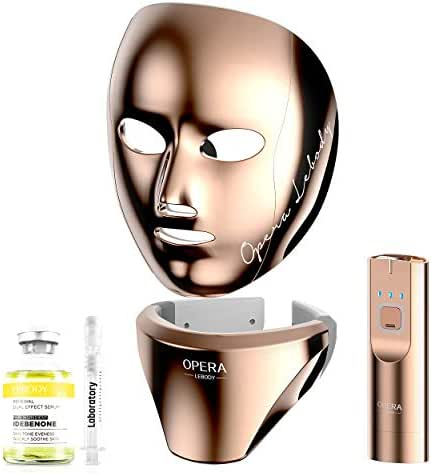 OPERA LEBODY LED Home Therapy Mask for Face and Neck | Near-infrared & Red Lights | Professional Skin Care