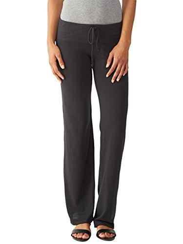 Alternative Womens Eco-Jersey Long Pants Small Eco True Black