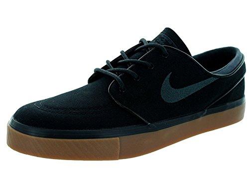 Nike Mens Zoom Stefan Janoski Skate Shoe, Black/Anthracite/Gum Med Brown, 45.5 D(M) EU/10.5 D(M) UK