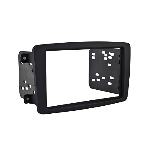 Metra 95-8722B Mounting Kit for Mercedes 2001-04 C Class and 2004 CLK (Black) C-class Dash