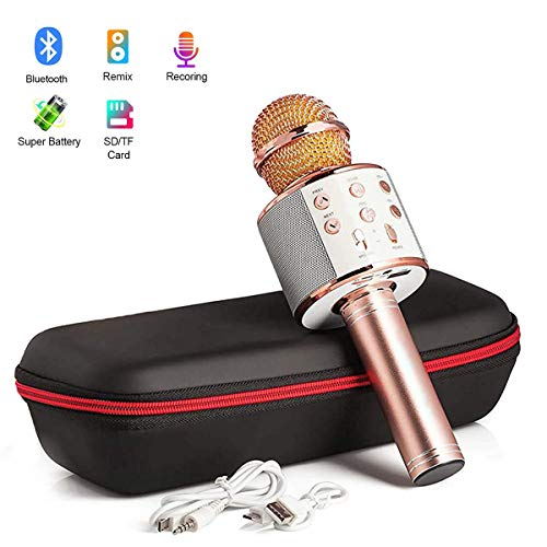 Karaoke Microphone Wireless Bluetooth