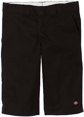 Dickies Big Boys' Flex Waist Short with Extra Pocket, Black, 10