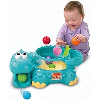 Fisher-Price Go Baby Go Poppity Pop Musical Dino [Amazon Exclusive]