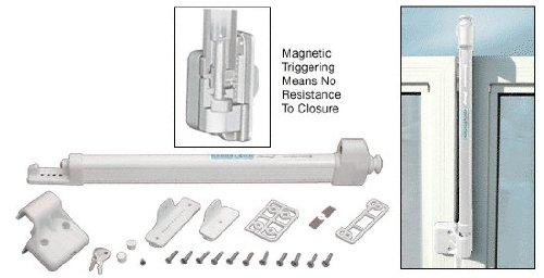 C.R. LAURENCE LL1MW CRL White Magna-Latch Child Safe Lock