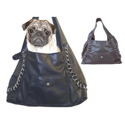 Urban Link Hobo Style Designer Dog Cat Pet Carrier and Purse All In One, My Pet Supplies