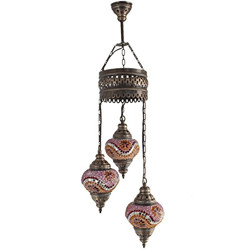 Chandelier, Ceiling Lights, Turkish Lamps, Hanging Mosaic
