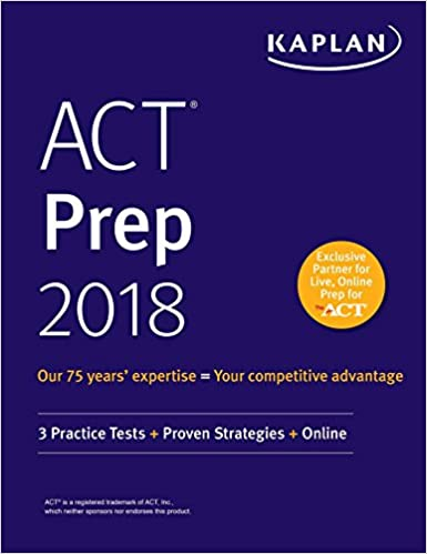 Amazon act prep 2018 3 practice tests proven strategies amazon act prep 2018 3 practice tests proven strategies online kaplan test prep ebook kaplan test prep kindle store fandeluxe Gallery