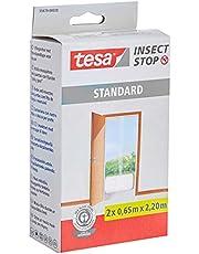 tesa Insect Stop Standard Vliegenhor - Insectenhor voor deuren - Maak van jouw deur een hordeur met deze muggenhor
