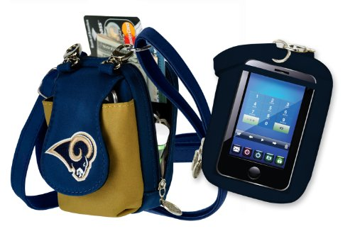 NFL St. Louis Rams Purse Plus Touch by Charm14