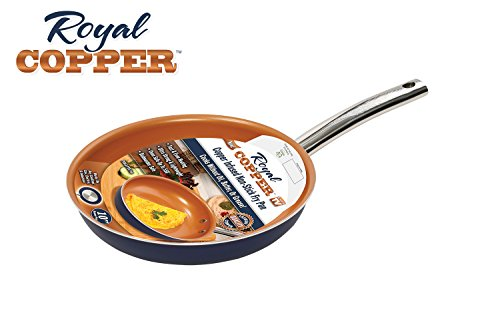 Cheap Royal Copper SCRP-MC6 Infused Nonstick Induction Fry Pan, 10 Inch