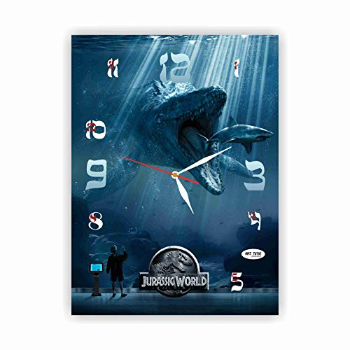 Exclusive Clock Jurassic World Film - Chris Pratt – Unique Item for Home and Office, Original Present for Every Occasion.