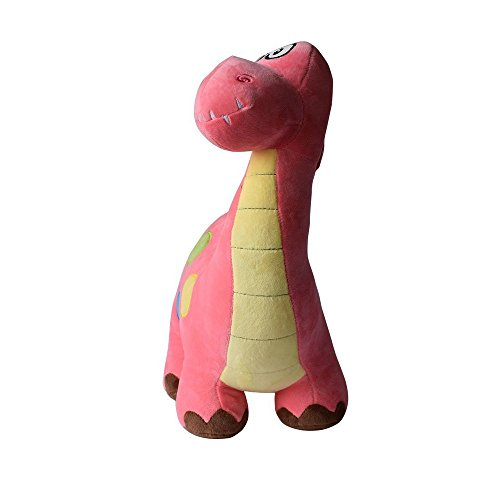 YuanShiming Stuffed Dinosaur Plush Animal Toy for Baby Gifts Kid Birthday Party Gift (45cm, Red) by YuanShiming