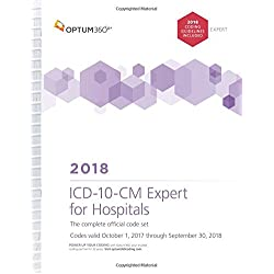 ICD-10-CM Expert for Hospitals 2018 (Spiral) With Guidelines