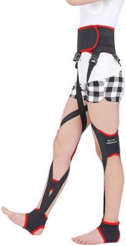 O脚 矯正ベルト 姿勢矯正 膝弓矯正用 の姿勢は、膝が強化されたタイプの昼と夜のための矯正包帯形状ノック