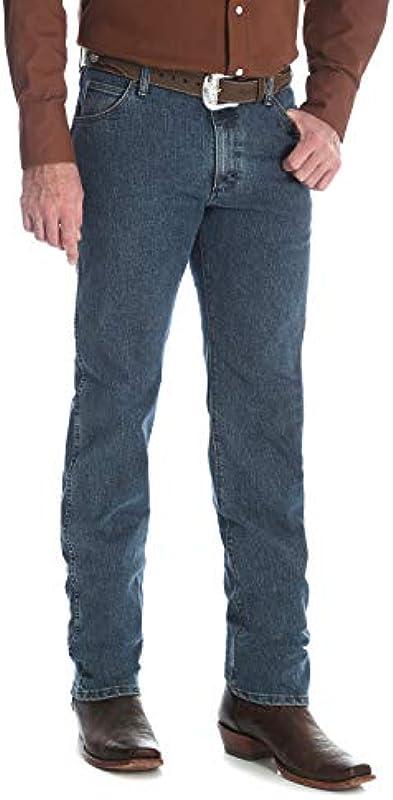 Wrangler Premium Performance Cowboy Cut Regular Fit dżinsy męskie: Odzież
