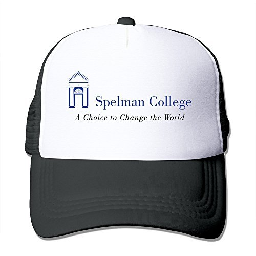Black HGLENice Spelman College Unisex Adjustable Baseball Trucker Cap One Size (Lebron 13 Halloween)