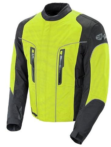 Joe Rocket Alter Ego 3.0 Men's All-Weather Riding Jacket (Neon Yellow, X-Large) (Rockets Neon)