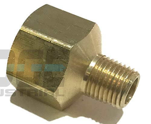 (EDGE INDUSTRIAL BRASS PIPE ADAPTER 1/2