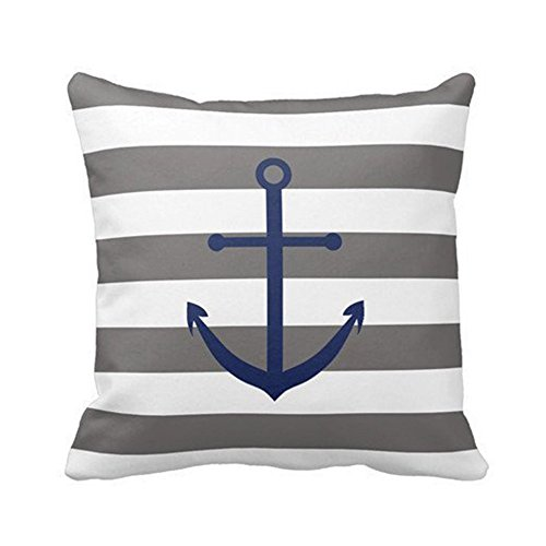 DECORLUTION Anchor Pillow Personalized Cushion product image