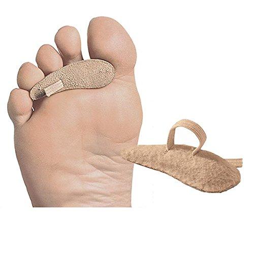Unisex Adult Prop'R Toe Felt Cushion for Bent Toe Pain Relief – Left Foot- Medium
