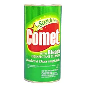 Amazon.com: Comet Disinfectant Cleanser with Bleach