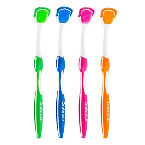 Orabrush Tongue Cleaner – 4 Brushes