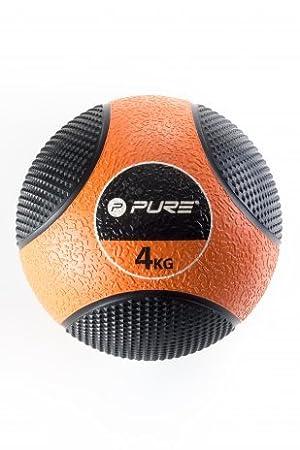Balón Medicinal 4 kg Original pure2i mprove: Amazon.es: Deportes y ...