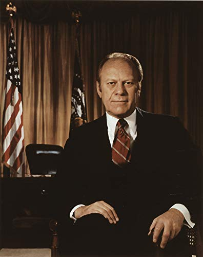 Gerald R. Ford Print - Vintage Historical 1975 Artwork (8