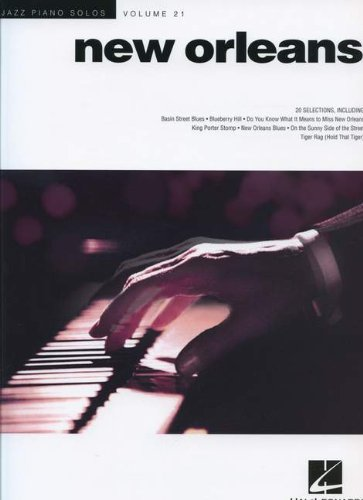 New Orleans - Jazz Piano Solos Series Vol. 21