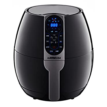 GoWISE Air Fryer 2.0  with Digital Programmable Cooking Settings, 3.7 Quart (GW22638)