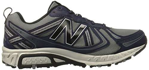 New Balance Mens Mt410v5 Dämpfung Trail Runner Grau