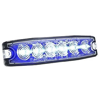 HELLA H22895021 Blue MST6 LED Lighthead, 12-24 V: Automotive