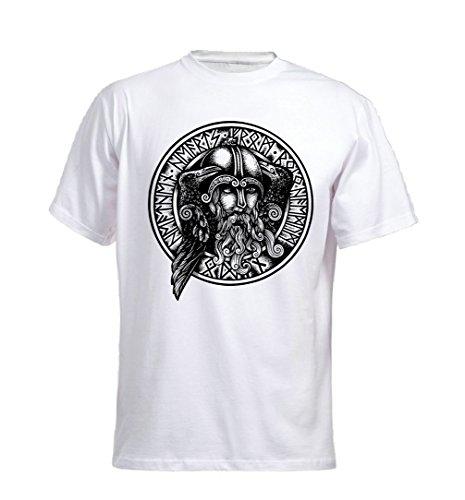 Odin Raben T-Shirt Weiß
