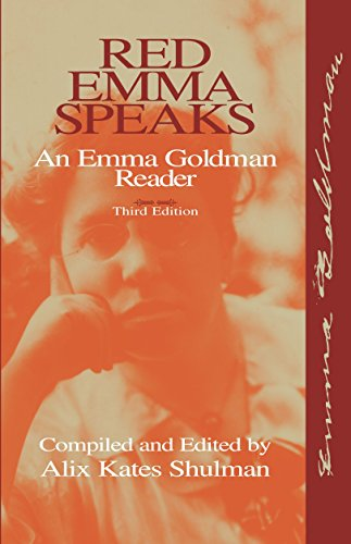 Red Emma Speaks: An Emma Goldman Reader (Contemporary Studies in Philosophy and the Human Sciences)