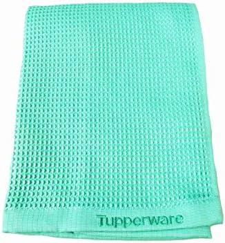 TUPPERWARE FaserPro Glas helles türkis T22 Fenster Mikrofasertuch