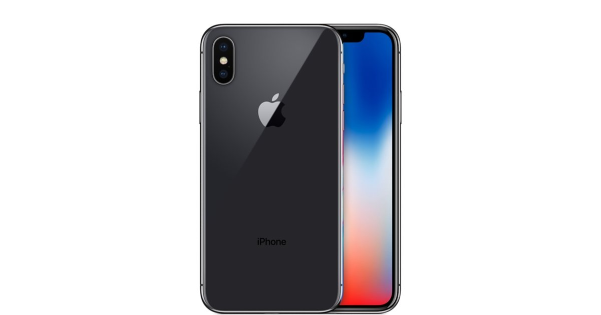 Apple iPhone X, GSM Unlocked, 64GB - Space Gray (Refurbished)