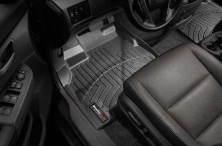 WeatherTech Custom Fit Front FloorLiner for BMW X3, Black